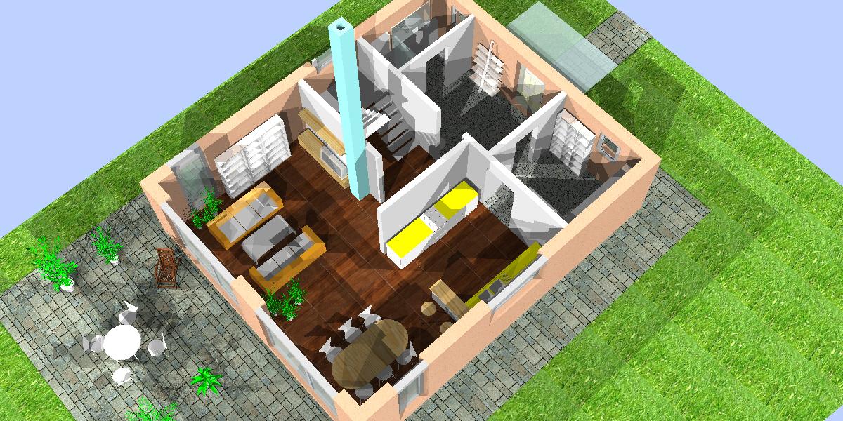 kfw 40 haus in kalksandstein. Black Bedroom Furniture Sets. Home Design Ideas